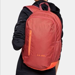 Under Armour UA Storm Fractal pink backpack NWT